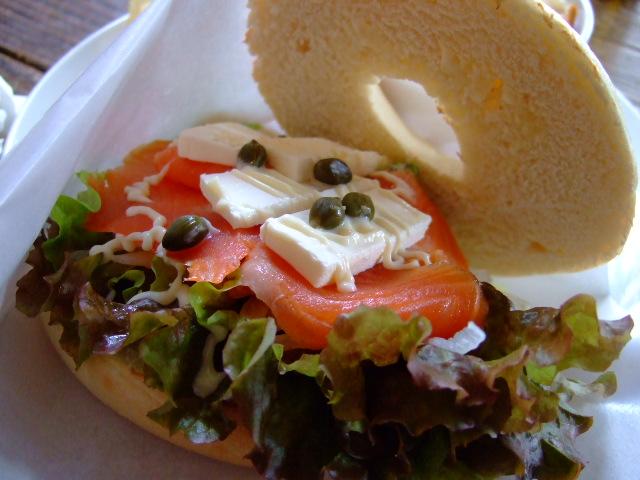 サンドイッチが充実のお洒落なカフェ 江坂 「マリンバ」