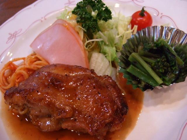お呼びいただいたので・・・・(^^ 神山町 「洋食の店 ア・ラ・カルト」