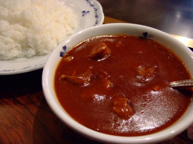 高級ステーキハウスの絶品カレー! 曽根崎新地 「ロン」