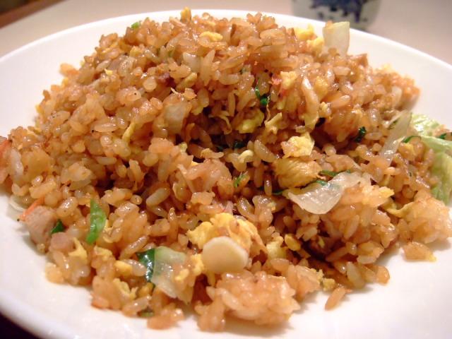 まぼろしの黒チャーハンの謎は・・・ 阪急三番街 「中国料理 Ching-Ming」