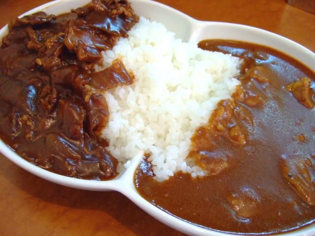 関西ゴルフ場レストラン1位の絶品カレー 靭本町 「カレーとハヤシ 福神」