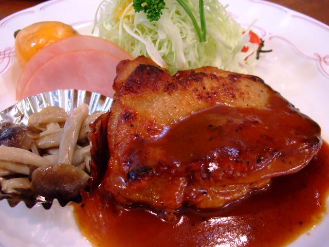 絶品のダブルチキン 神山町 「洋食の店 ア・ラ・カルト」