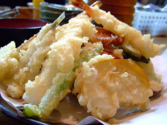 天ぷらマウンテン食べてきました(^^ 谷5 「一味禅」