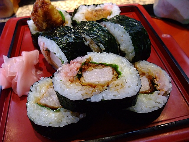 とんかつ専門店とお寿司屋さんの絶妙コラボレーション 西成区 「大番鮨」
