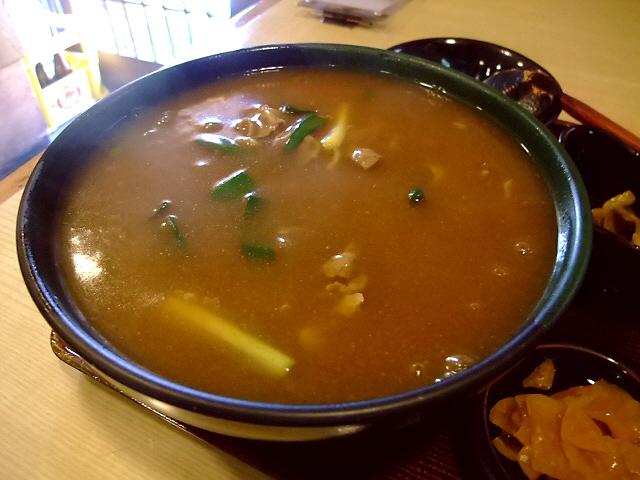 カレー蕎麦の役割とは・・・ 住之江区 「秀吉」
