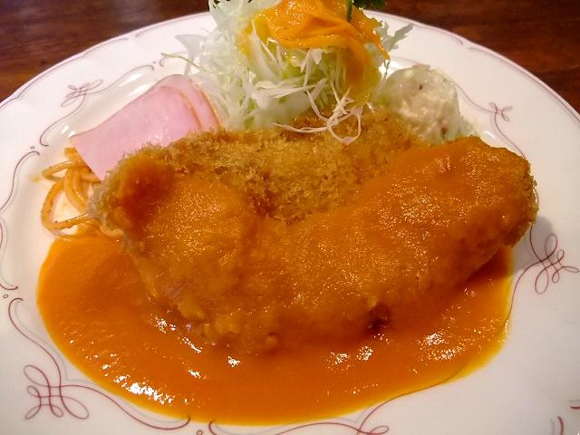 ア・ラ・カルト流洋食屋さんのとんかつは絶品でした! 北区神山町 「洋食の店 ア・ラ・カルト」
