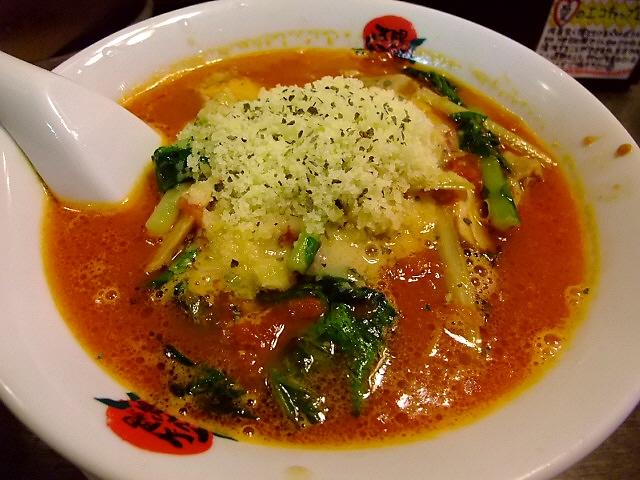 食べれば食べるほど癖になります 福島区 「太陽のトマト麺」