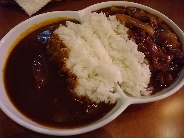 久々にいただいた絶品カレーの味は・・・ 靭本町 「カレーとハヤシ 福神」