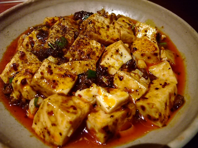 舌が痺れる本格麻婆豆腐をさらに激辛で 本町 「中国酒家 明元」