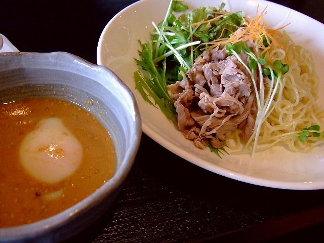 つけ麺風の冷やし中華 梅田スカイビル 「燦宮」