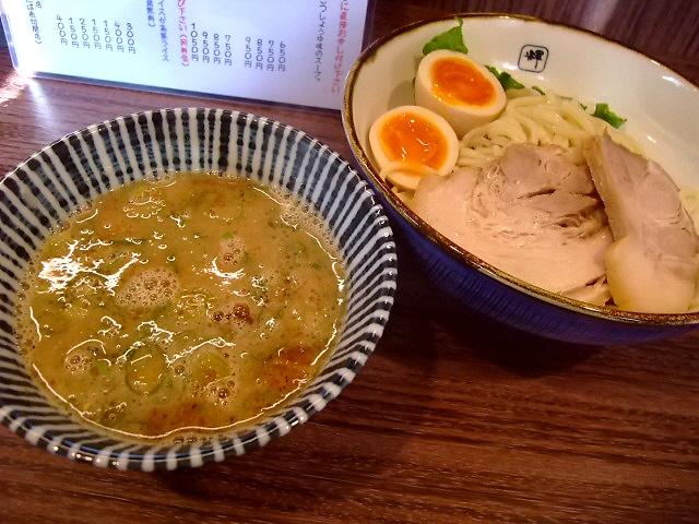 しみじみ旨いWスープのつけ麺 東淀川区 「麺や輝 淡路たろう店」