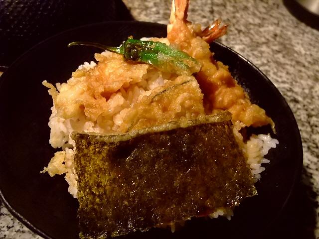 こちらの天丼もコスパが高くてお得です! 堺筋本町 「天ぷらの店 あしべ」