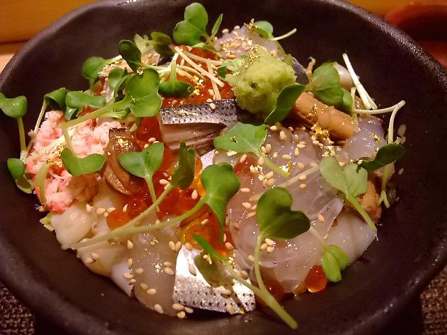 超お値打ちの贅沢すぎる海鮮ちらし 北新地 「鮨匠 なか川」