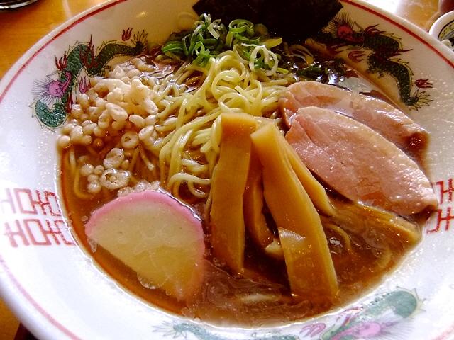 どぎゃんの冷やし中華はとても味わい深いです!  中央区博労町  「宮崎郷土料理 どぎゃん」