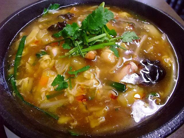 本格酸辣湯麺で体の芯から温まりました! 豊中市 「天座」