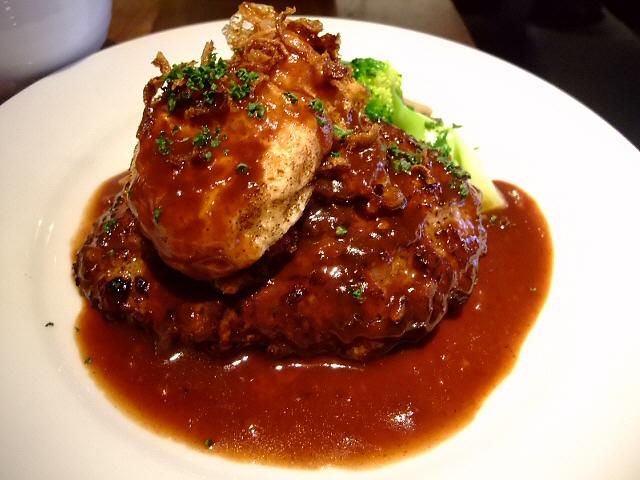 こんなに美味しかったのか!素晴らしい洋食フレンチハンバーグ!  西天満  「kitchen Coto Coto(キッチンコトコト)」