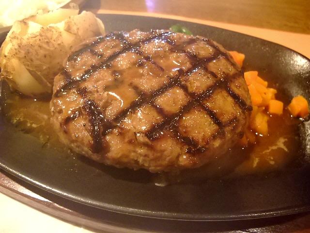 久々のお肉ぎっしりハンバーグはやっぱり旨かった!  富田林市 「ビッグジョー 富田林店」
