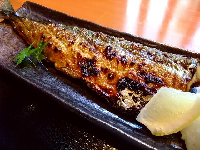 巨大焼き魚定食は素晴らしくお値打ちです!  北堀江 「大阪産料理 空 堀江店」