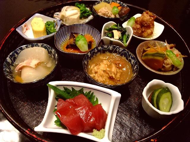 人気の菜摘み膳はやっぱりお得でした! 北新地 「龍泉堂」