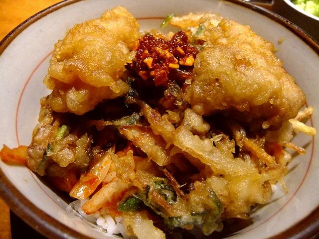 北新地の高級店でもキムラ君が食べられます!   北新地 「てんぷら・鉄板焼 義」
