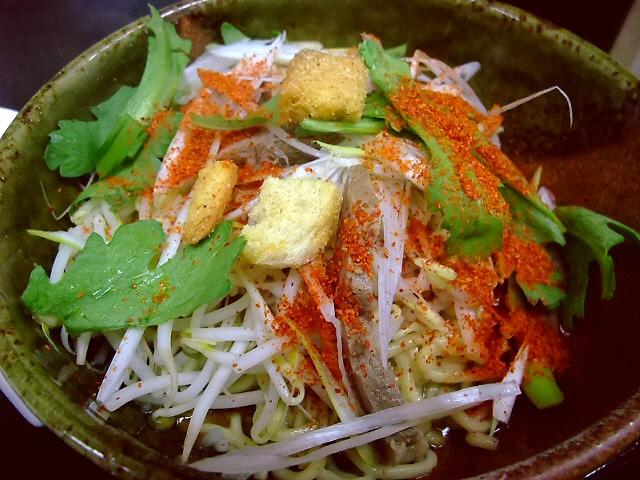 念願の和え麺は絶品でした! 東住吉区 「麺屋 彩々」
