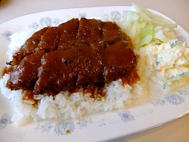 加古川の名物かつめしは昔懐かしい味わいでした  兵庫県加古川市  「一休亭」