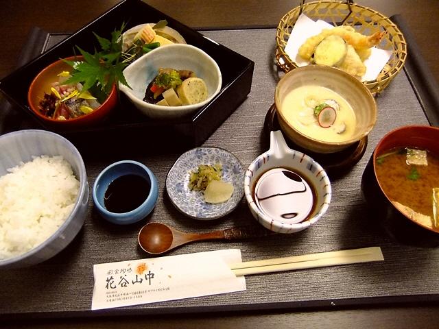 老舗料亭の伝統の味がお手軽に味わえます!   中崎町  「彩食絢味 花谷山中」