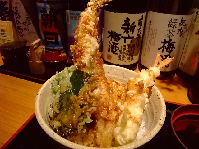 泉州の地アナゴの豪華丼 本町 「大阪産料理 空」