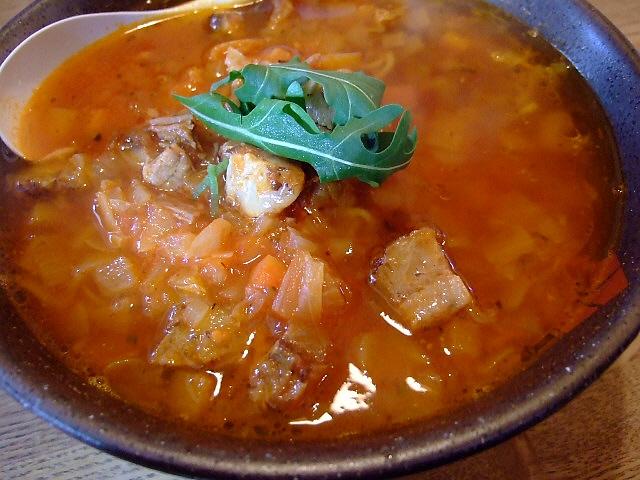 完成度の高い洋風ラーメン 豊中市 「麺家 五大力」