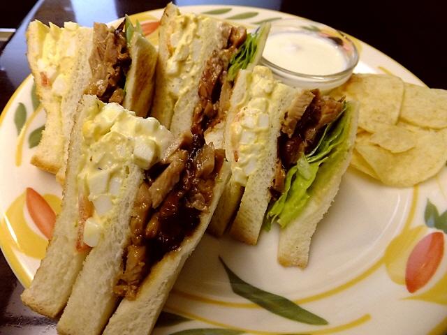 サンドイッチ好きにはたまらないお店です!  中央区平野町  「蝸牛庵」