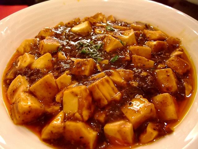 激辛麻婆豆腐は超本格派で大満足!  天神橋2丁目 「大陸風(タァ ルゥ フォン)」