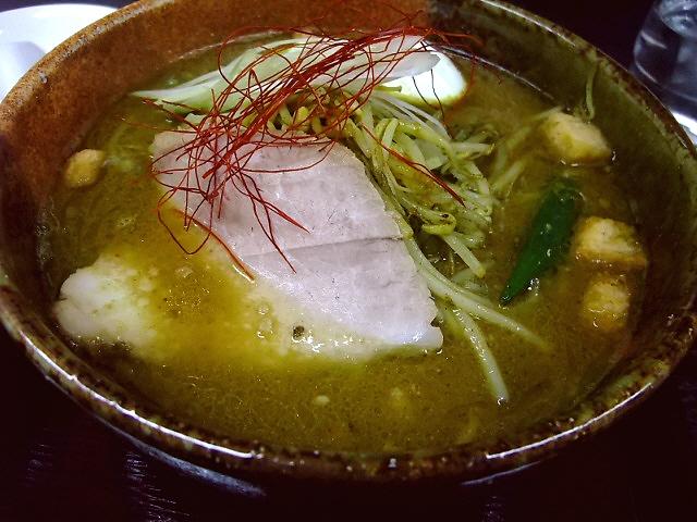 味噌とカレーの絶品コラボ! 東住吉区 「麺屋 彩々」