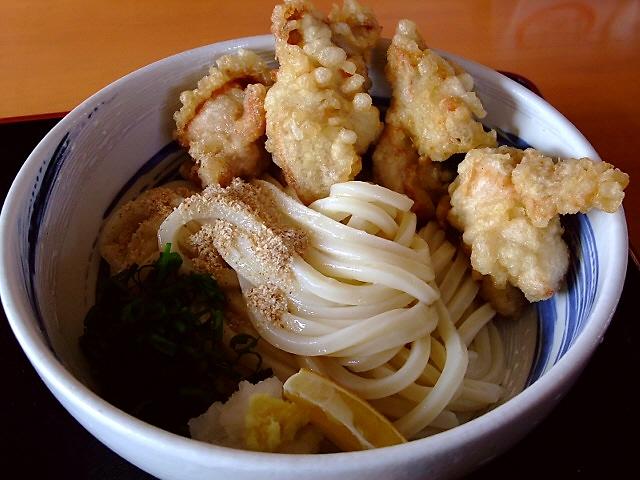 関西讃岐うどん西国三十三ヶ所巡礼 15番礼所 心温まるお店のうどんは超剛麺でした! 貝塚市 「心温まるうどん うつ輪」
