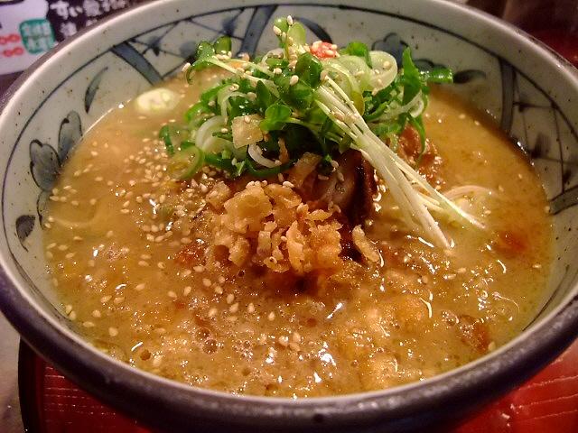 完全無化調のWスープが旨い! 豊中市 「文禄庵」