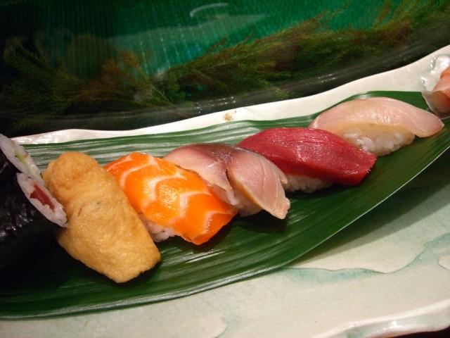 北新地のお値打ち寿司ランチ! 「すし処 おとわ」