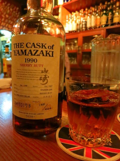 Mのハシゴ酒その2  ゆったり落ち着ける正統派のバー  祇園  「祇園サンボア」