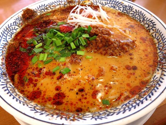 痺れる辛さの本格的な味わいです!  堺市  「丸源ラーメン 泉北店」