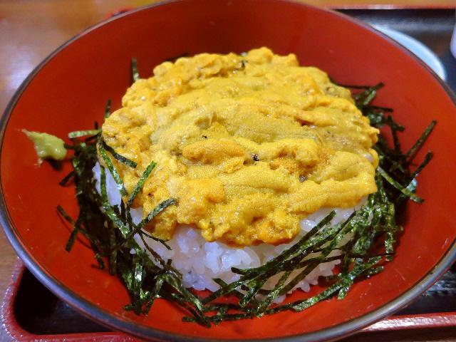 憧れの壱岐の名物うに丼は絶品でした!  長崎県壱岐市  「お食事処 みうらや」