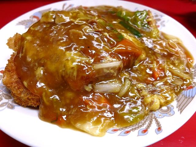 これぞザ・中華料理屋さんのカツ丼です(^^  東三国  「若水」