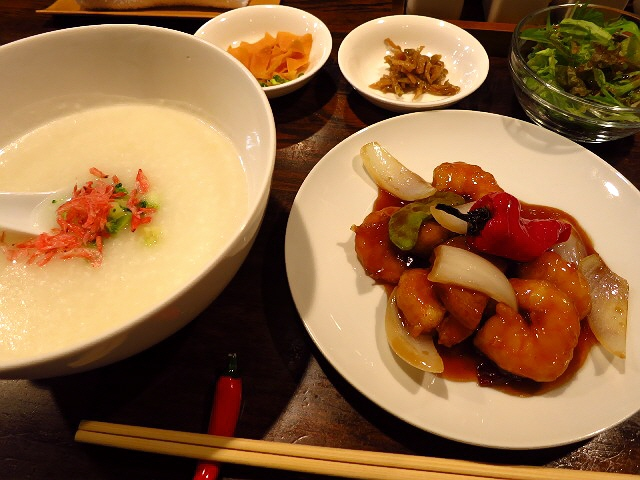 高級感あふれる味わいのお粥が絶品です!  東三国  「清粥小菜 明」