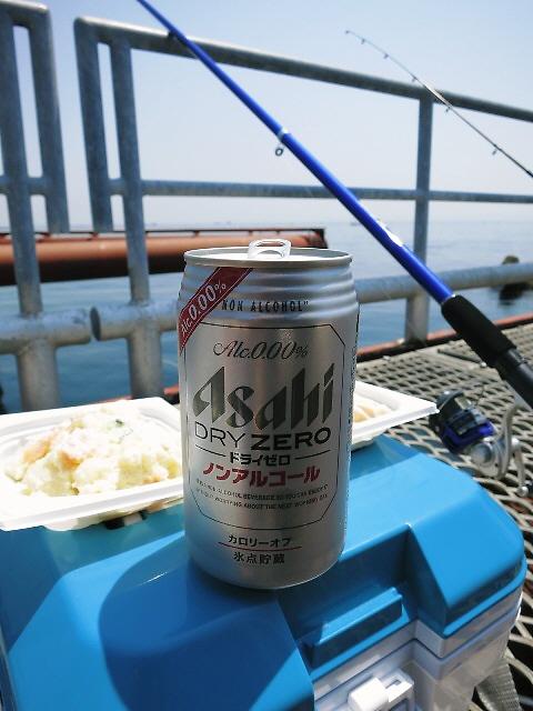 釣果は散々でも・・・天気が良くて最高に気持ち良かったです! @須磨海づり公園