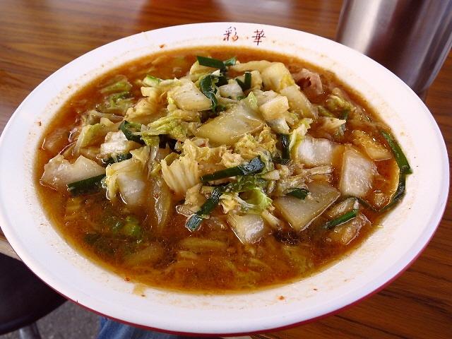 Mの〆  外で食べると旨さも倍増です!  奈良県  「彩華ラーメン 屋台」