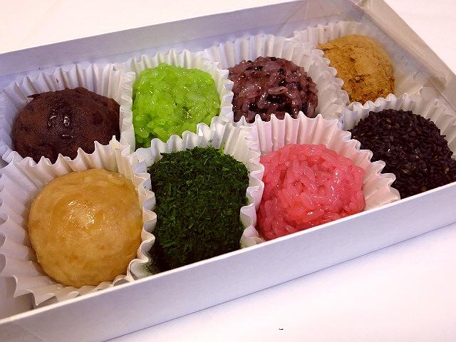 Mのおやつ  おはぎの宝石箱や~!  京都  「小多福」