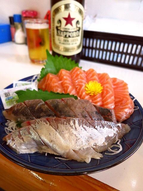 Mのちょっと一杯!  新鮮な魚をアテに昼酒が楽しめます!  立花  「釜谷」