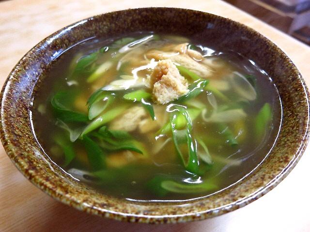 昔ながらの食堂の京都伝統たぬきと絶品いなり寿司  京都  「相生餅」