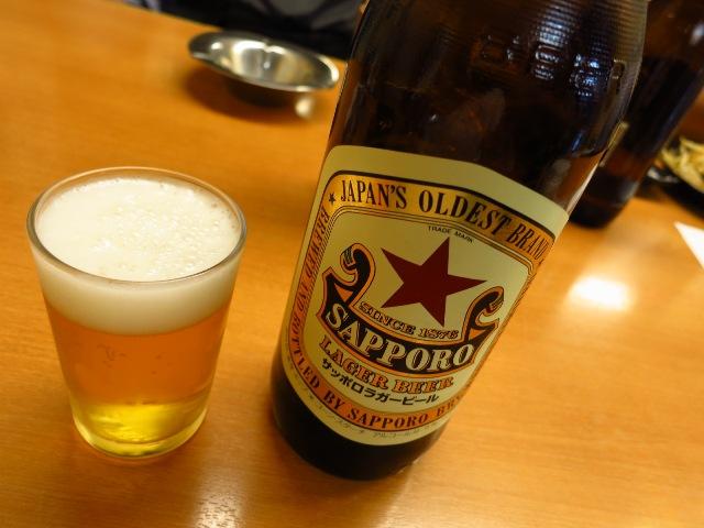 Mのもうちょっと一杯!  ビールはやっぱりここに限ります(^^  大阪駅前第1ビル  「銀座屋」