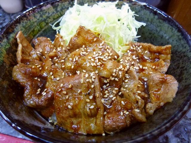 安くて旨くてお得なカルピ丼の専門店  天五中崎町商店街  「復活!!カルピ丼」