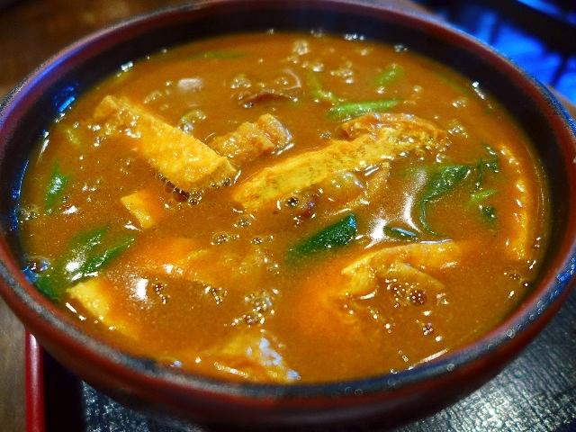 ほとんどのお客さんがカレーうどんを食べるうどん屋さん  京都  「日の出うどん」