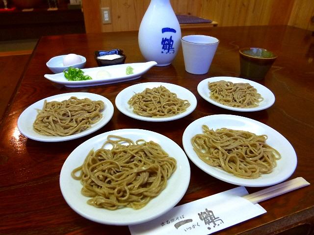 とても美味しい出石の伝統そばをいただきました!  兵庫県豊岡市  「出石皿そば 一鶴」