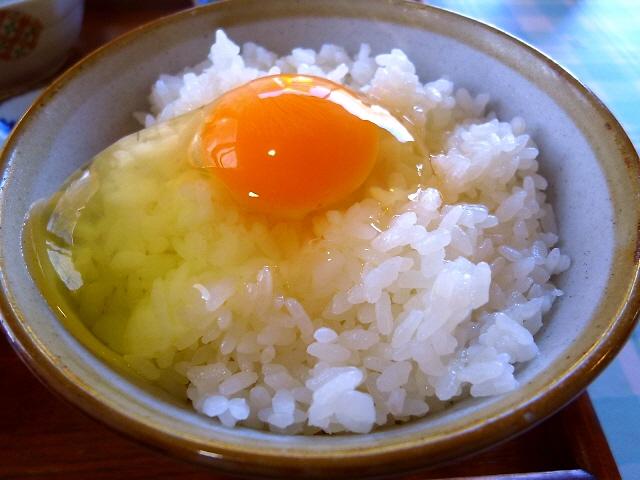 Mの朝ご飯  こだわり卵食べ放題!お値打ちの卵かけご飯専門店!  京都府亀岡市 「弁天の里」